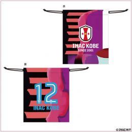 21-22ユニフォーム型巾着(#12 INAC KOBE)
