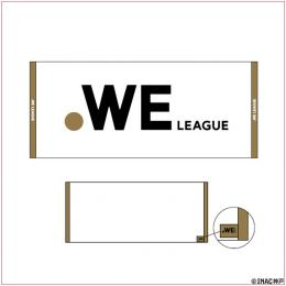 WE LEAGUE ロゴ フェイスタオル